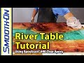 How To Make A River Table Using Clear Epoxy Casting Resin And Reclaimed Cedar Wood mp3