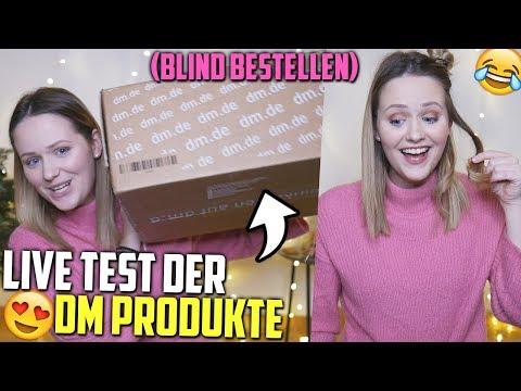 Die DM Produkte sind da😍 LIVE TEST (Lockenstab, Mary Lou Highlighter etc.) | Mone