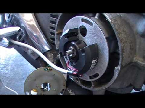 Installing A Dyna S Ignition on a CB750A - YouTube
