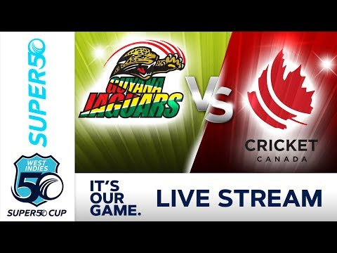 Super50 Cup - Full Match | Guyana v Canada | Monday 15 October 2018