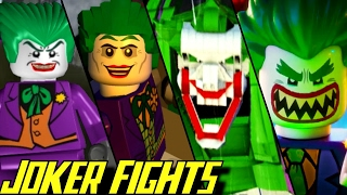 Evolution of Joker Battles in LEGO Batman Games (2008-2017)