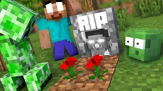 MONSTER SCHOOL : RIP HEROBRINE - SAD AND TOUCHING STORY