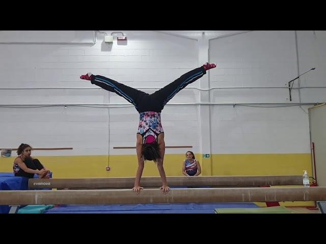 LA VERTICALE PIÙ LENTA DEL MONDO CHALLENGE!! ginnastica artistica CSB