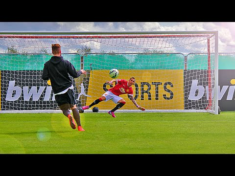 Man Utd vs freekickerz - Penalty Challenge