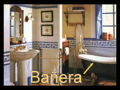 Cuarto de baño. vocabulario básico - YouTube