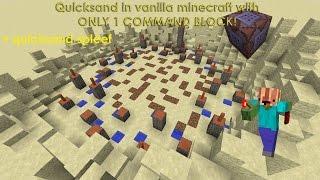 ماين كرافت ريدستون - الرمال المتحركة في الفانيليا ماين كرافت v2 مع فقط 1 قيادة كتلة!