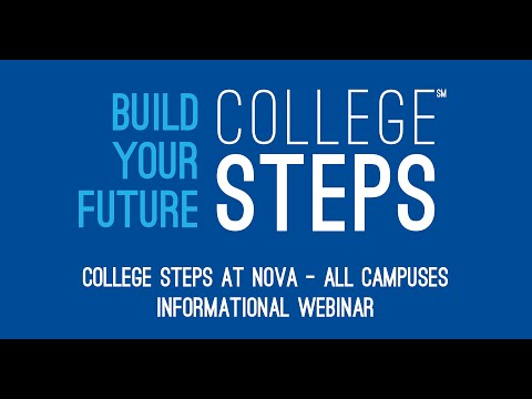 College Steps at NOVA (Northern Virginia Community College)