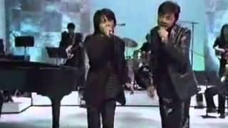 "Ryuichi fulfills his dream singing with Hideki Saijo the song ""Haru..."