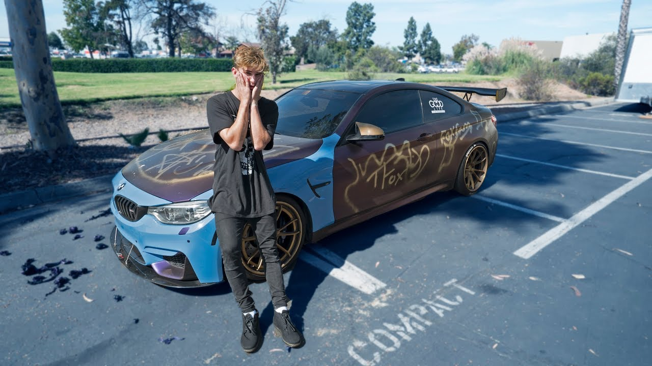 Best Friend Ruined My Dream Car Spray Paint Youtube