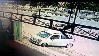 Car accident in chalakudy
