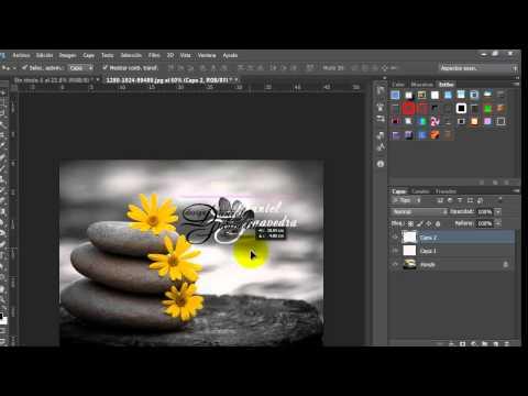 Firma en modo Pincel, Marca de Agua y Grafico Photoshop by Yanko0