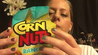 ASMR EATING SOUNDS: CORN NUTS | EXTREME CRUNCHING SOUNDS | Angie's Life