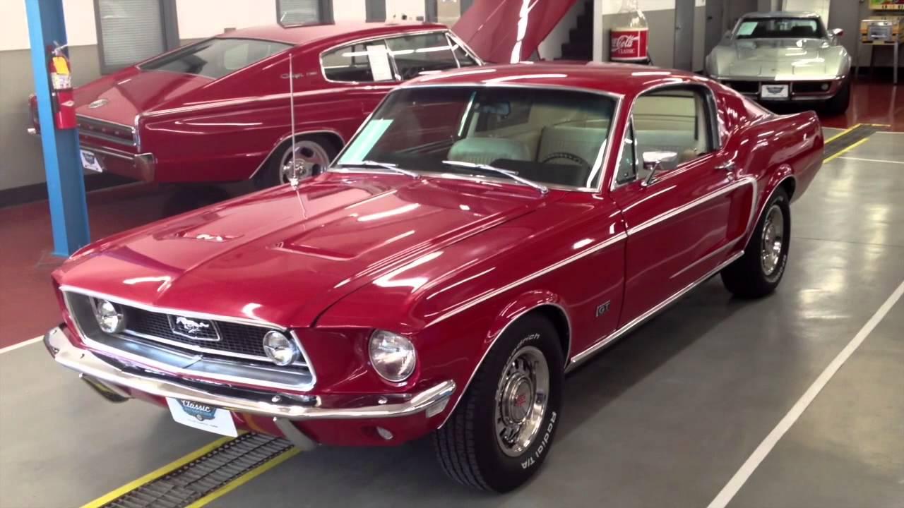 1968 Mustang GT Restoration - YouTube