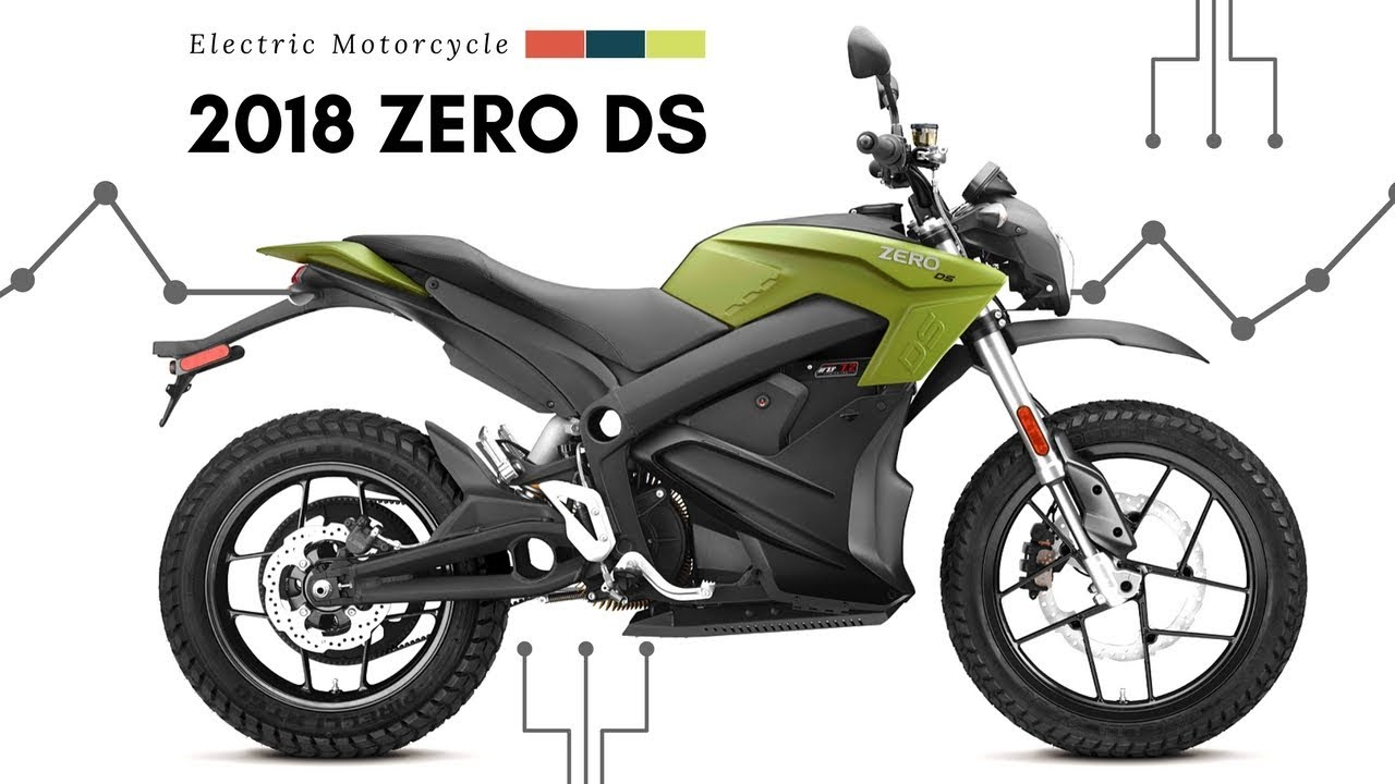 New 2018 Zero Ds Electrical Motorcycle Emissions 6x Faster Charge