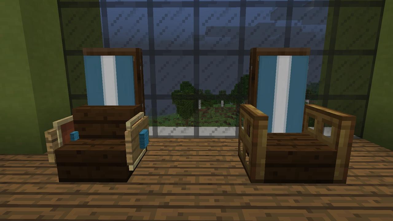 Top 10 idées de chaise Minecraft