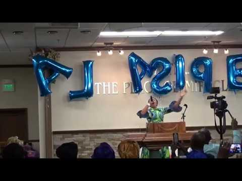 TOPE ALABI @ Christ the truth ministries, Calvary House, Maryland United States