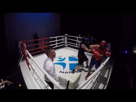 Ultra White Collar Boxing | Alloa | William Marlin VS Darren Morton