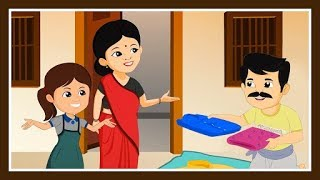 Dhobi Aaya Dhobi Aaya | Hindi Nursery Rhyme For Children | Hindi Balgeet | Hindi Cartoon Rhyme