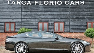 Aston Martin Rapide S 6.0 V12 Automatic in Ceramic Grey with Full Black Leather