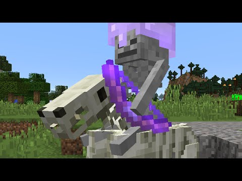 Minecraft New Skeleton Horse Jockeys And More Snapshot 15w36d