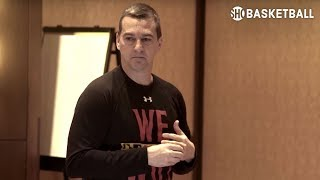 UMD Coach Mark Turgeon's Pregame Speech on Dean Smith | HOOPS U