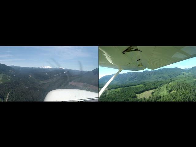 Landing at McKenzie Bridge airport 00S