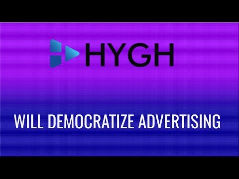 How to democratize the advertising industry? HYGH makes it possible