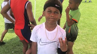 5 year old Maurice Pope III breaks another Record !!! Track and field | 2018