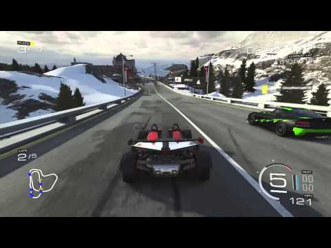 Forza 5 Multiplayer race - Xbow in A Class with interesting players