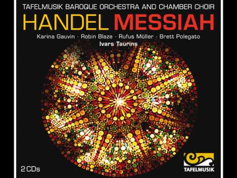 Handel Messiah, Chorus: The Lord gave the word