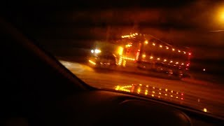 we tried to stop the trucks on clinton road (with nerf guns) REALLY BAD IDEA WE GOT CHASED