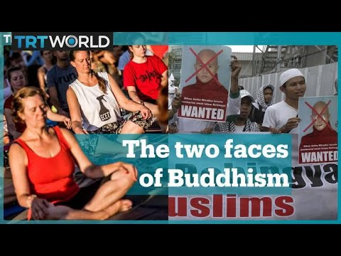 Pop culture Buddhism vs Buddhist monks preaching violence