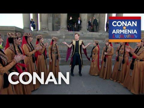 Conan Dances At The Garni Temple  - CONAN on TBS