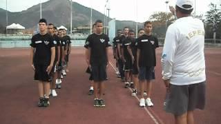 TFM (Treinamento  Físico Militar) IEPEM - rapazes