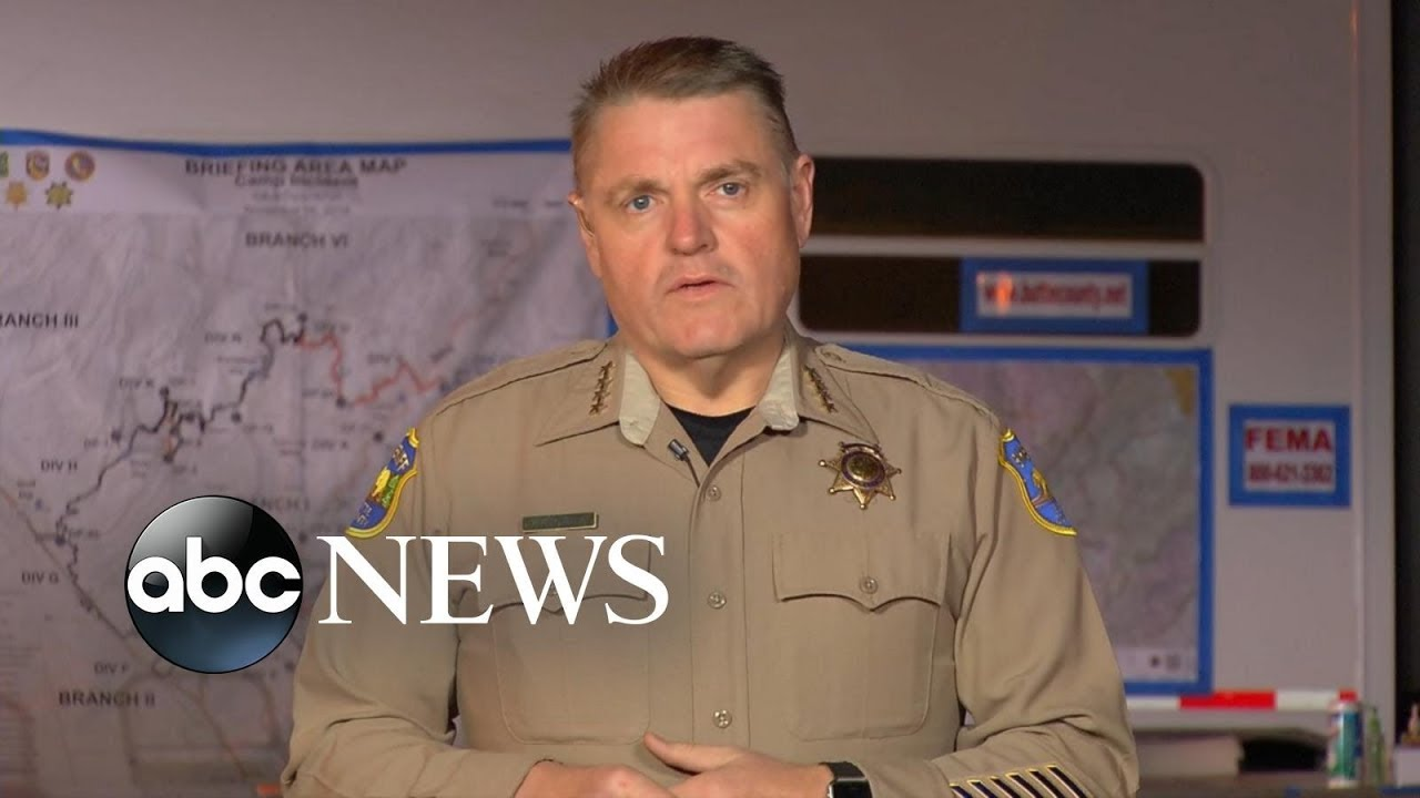 Butte County sheriff: 'Still trying to bring order to the chaos' caused by Camp Fire