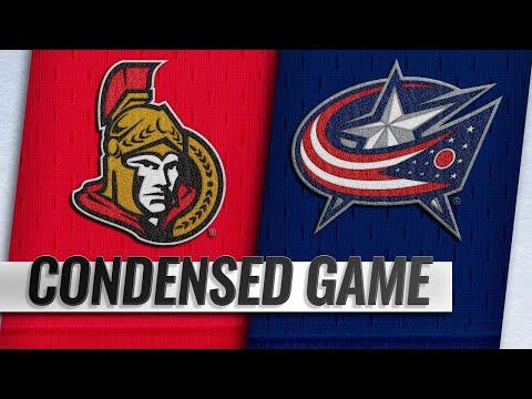 12/31/18 Condensed Game: Senators @ Blue Jackets