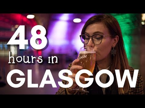 TWO DAYS IN GLASGOW: sights, food & destroyed umbrellas!
