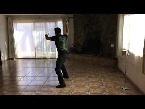 Empty Living Room Becomes Dance Studio