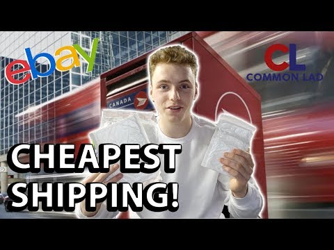 Cheapest Shipping For Canada Post | How to ship with Canada Post (Ebay,ecomerce)