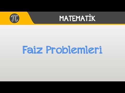 Faiz Problemleri | Matematik