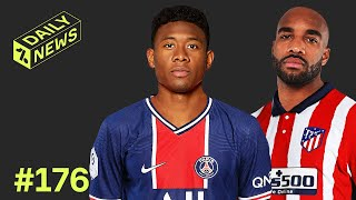 David Alaba speaks with PSG! + Lacazette has THREE summer options!