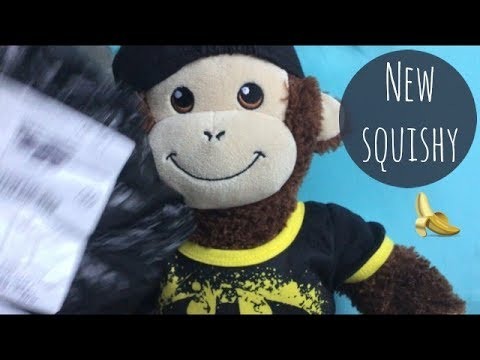 UNPACKING HIS NEW SQUISHY | Mylo