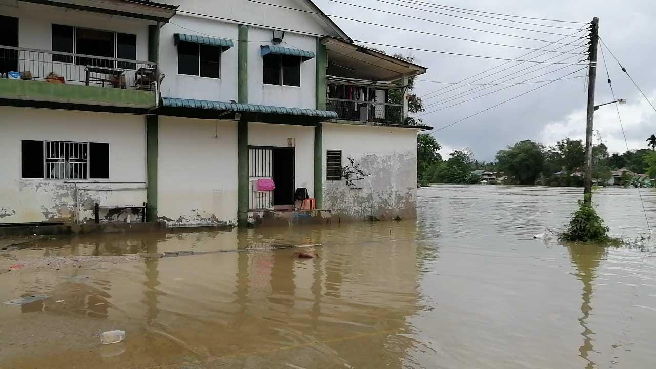 Mangsa banjir di Sarawak terus bertambah