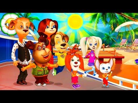 Барбоскины: Весёлые приключения #1 Семейное путешествие на Солнечный берег!
