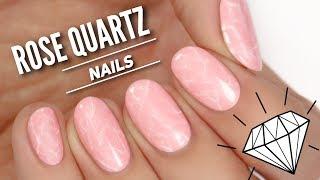 Rose Quartz Nail Art Tutorial // TREND ALERT