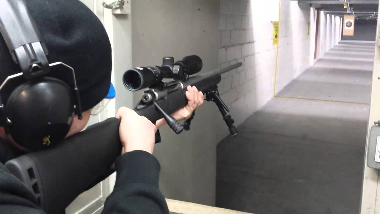 Savage Axis Glades Armory Tactical Bolt Handle @ the Range