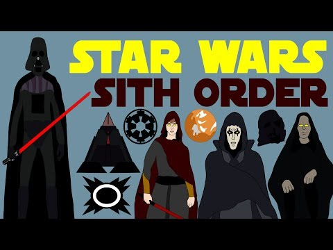 Star Wars - Sith Order (Complete)