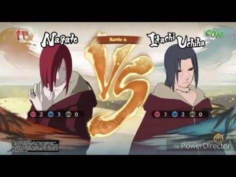 NARUTO SHIPPUDEN: Ultimate Ninja® STORM 4 Nagato vs Itachi