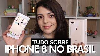 IPHONE 8 PLUS no Brasil - Análise completa | Lia Camargo