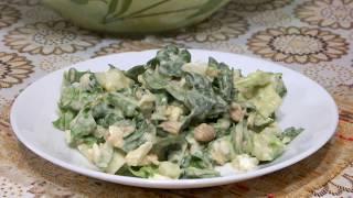 Простые салаты на скорую руку/Как приготовить салат из пекинской капусты/Салат из пекинской капусты